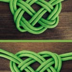 How to Make a Celtic Heart Knot with Studio Knit