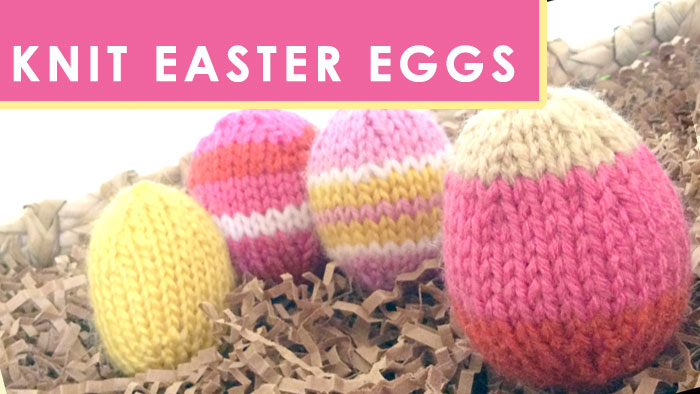 How to Knit an Easter Egg - Quick Knit Softies by Studio Knit