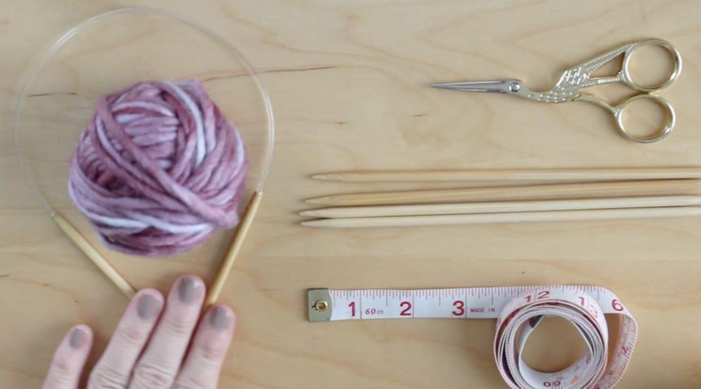 Knit a Bird Nest for WildCare - Materials