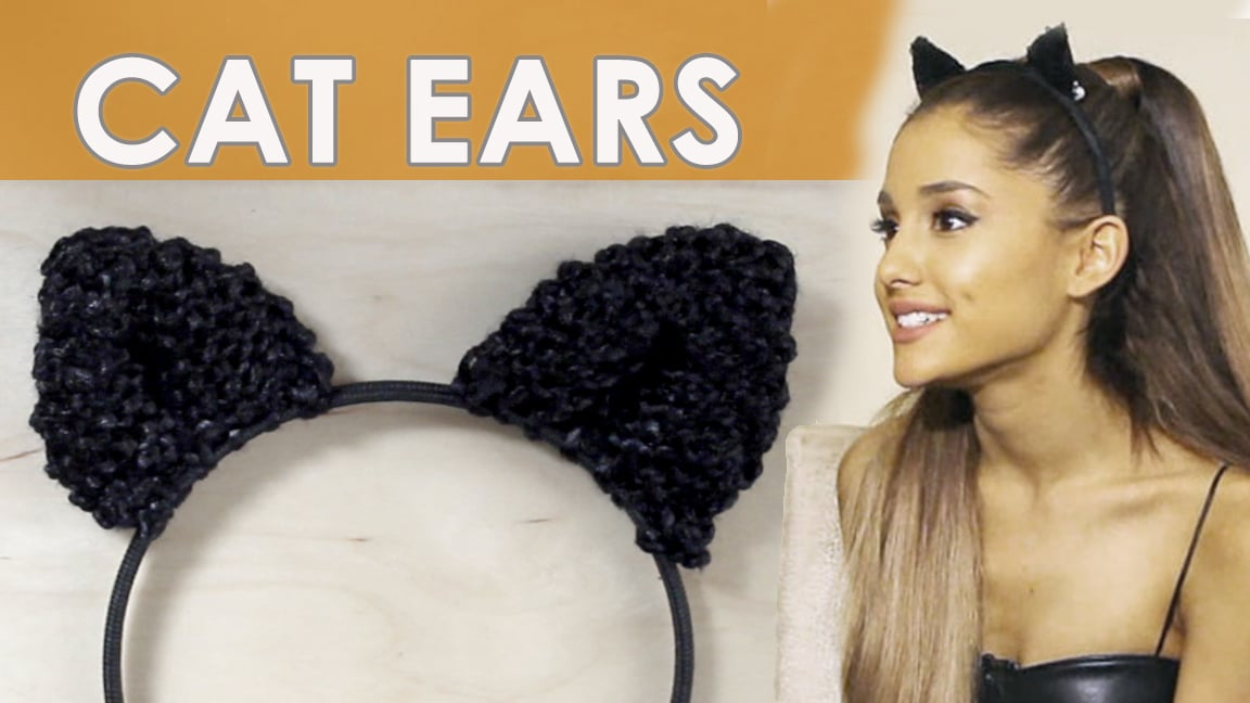 How to Knit Cat Ears Like Ariana Grande Wears