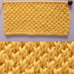 Bee Stitch Knitting Pattern