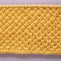 Bee Stitch Knitting Pattern and Video Tutorial