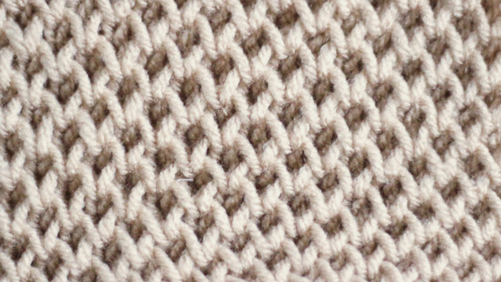Honeycomb Stitch Knitting Pattern