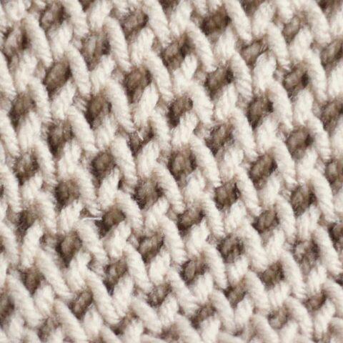 Honeycomb Stitch Knitting Pattern