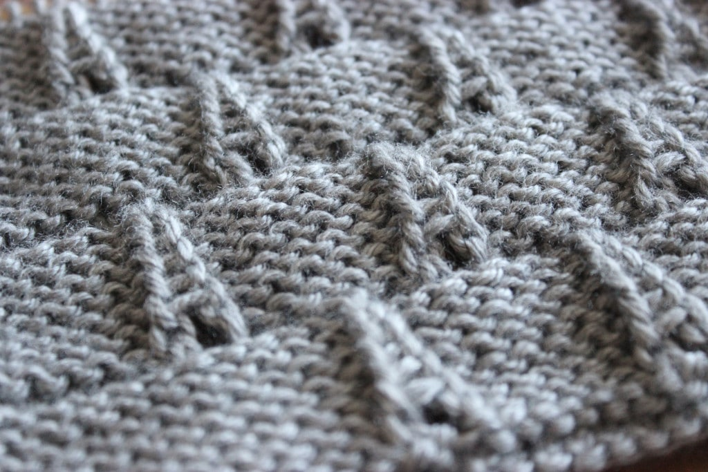 How to Knit the EIFFEL TOWER Eyelet Stitch with Studio Knit