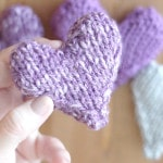 Knit a Heart Shape | Puffy Heart Softies by Kristen McDonnell of Studio Knit
