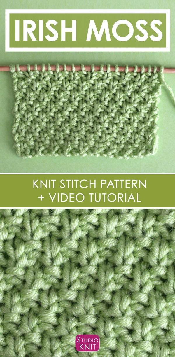 Knit Stitch Patterns | Studio Knit