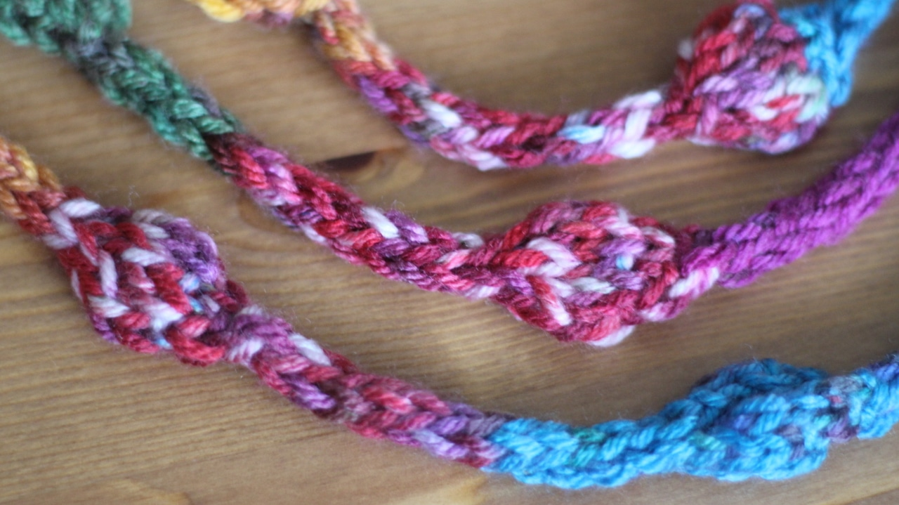 How to Knit a Beaded Necklace Pattern with Video Tutorial | Studio Knit