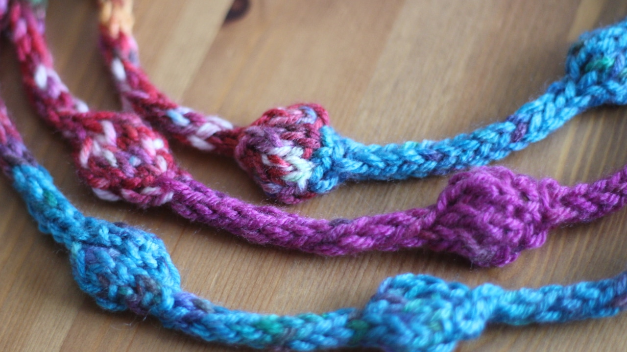 How to Knit a Beaded Necklace with Studio Knit