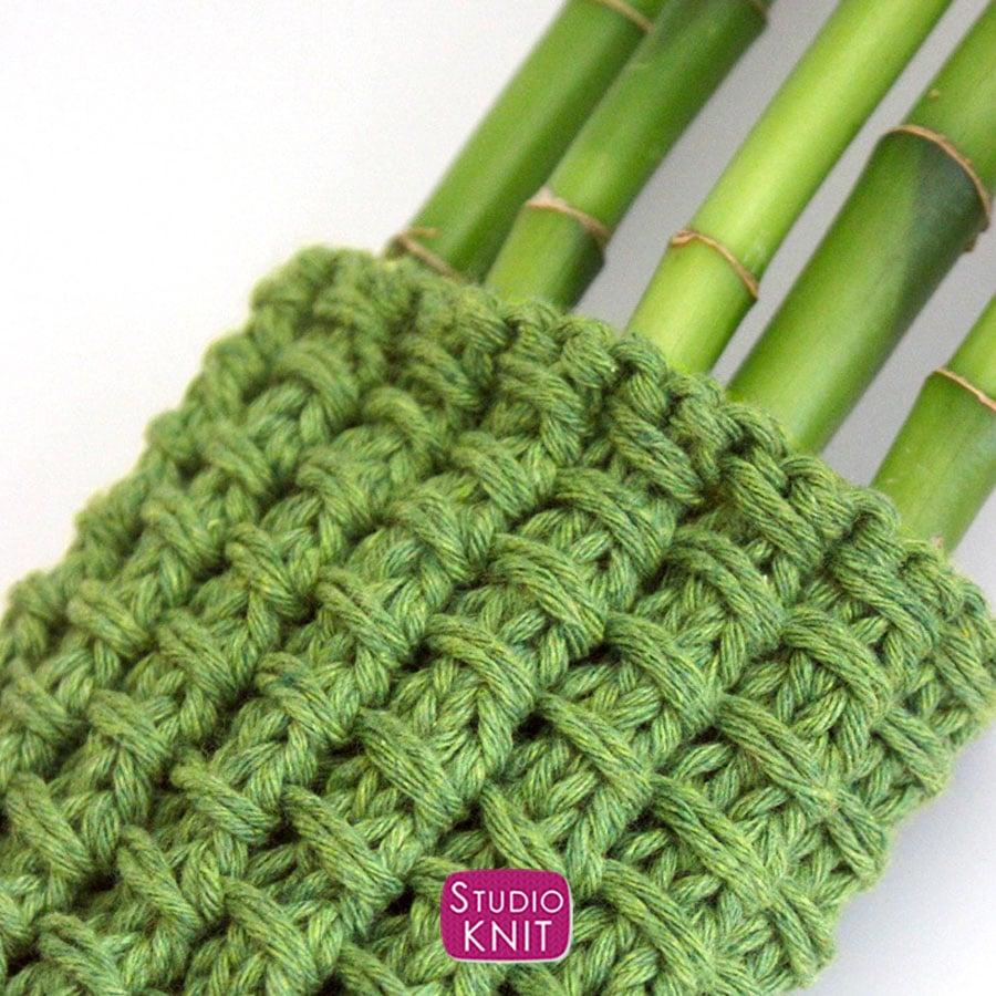 Bamboo Stitch Knitting Pattern