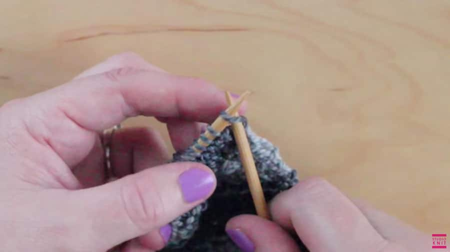 Slip Stitch Knitting Technique for Smooth Edges with Studio Knit - Watch Free Knitting Video Tutorial