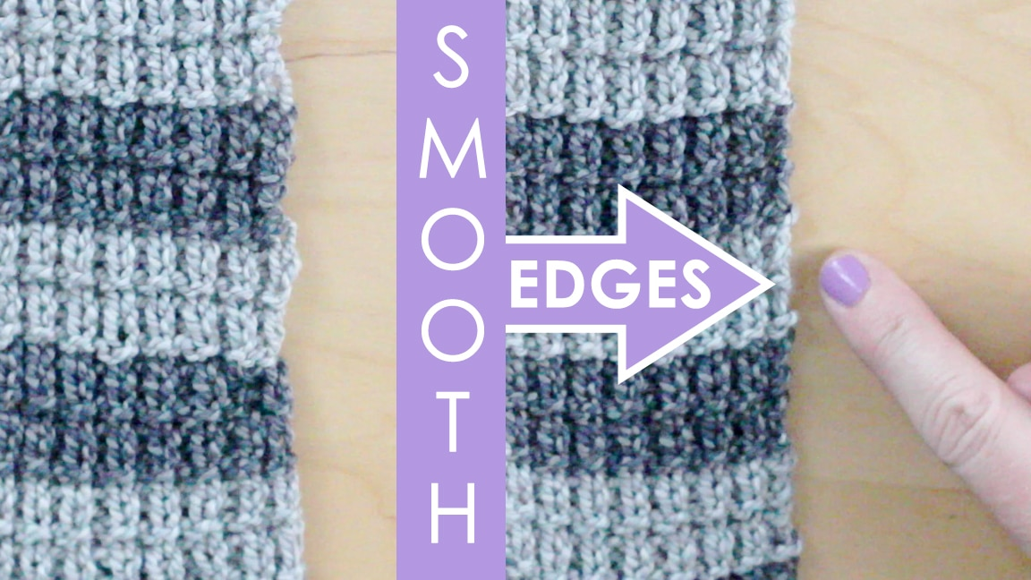 1455ec8032f4 Slip Stitch for Smooth Edges Knitting Technique with Video Tutorial ...