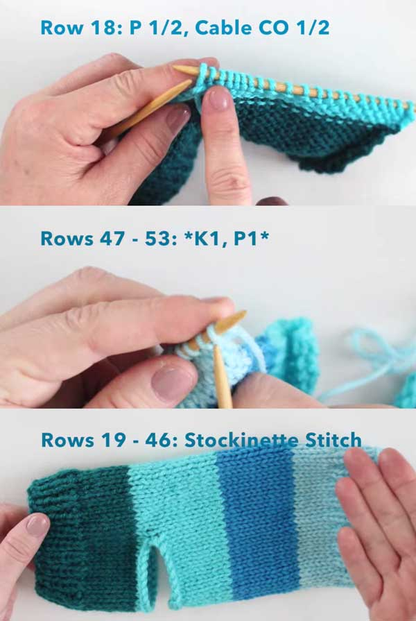 Pattern Instructions for How to Knit Yoga Socks with Free Knitting Pattern + Video Tutorial by Studio Knit