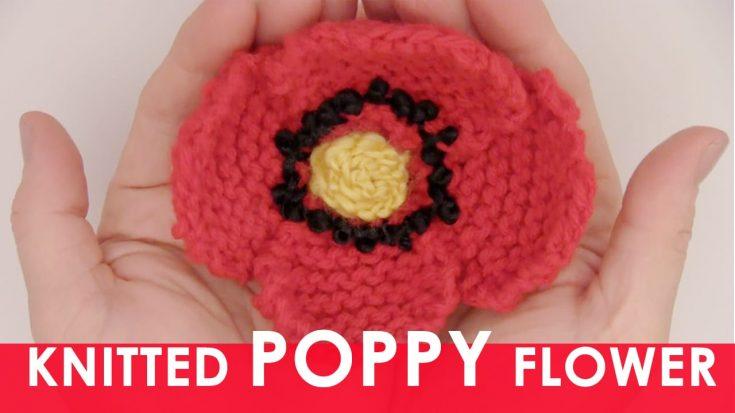 Knit Flower Patterns