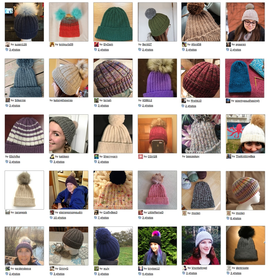 How to Knit a Gilmore Girls Hat Pattern with Video Tutorial  b64776ec655