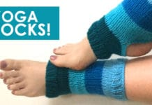 How to Knit Yoga Socks with Free Knitting Pattern + Video Tutorial by Studio Knit