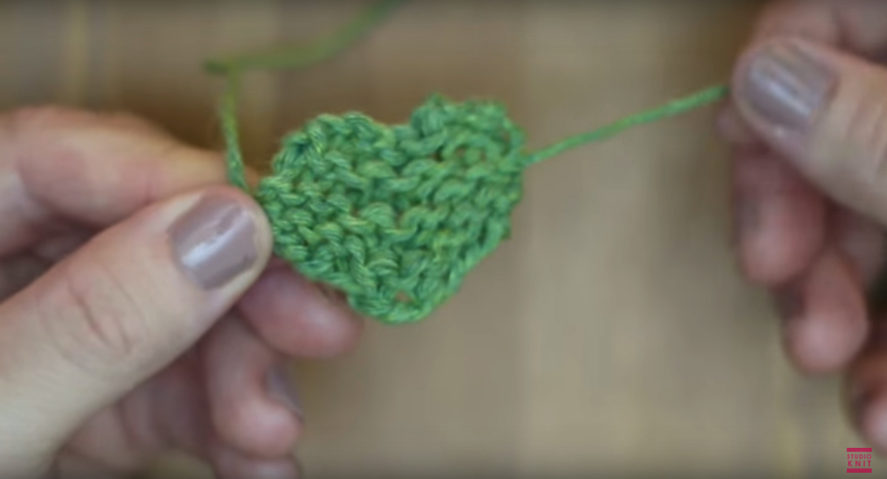 How to Knit a Shamrock Clover for St. Patrick's Day with Easy Free Knitting Pattern + Video Tutorial by Studio Knit