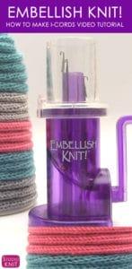 Embellish Knit I-Cords