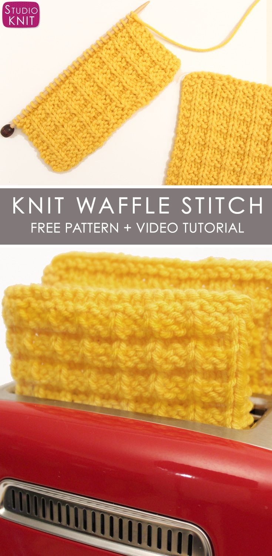Waffle Stitch Pattern Magnificent Decorating