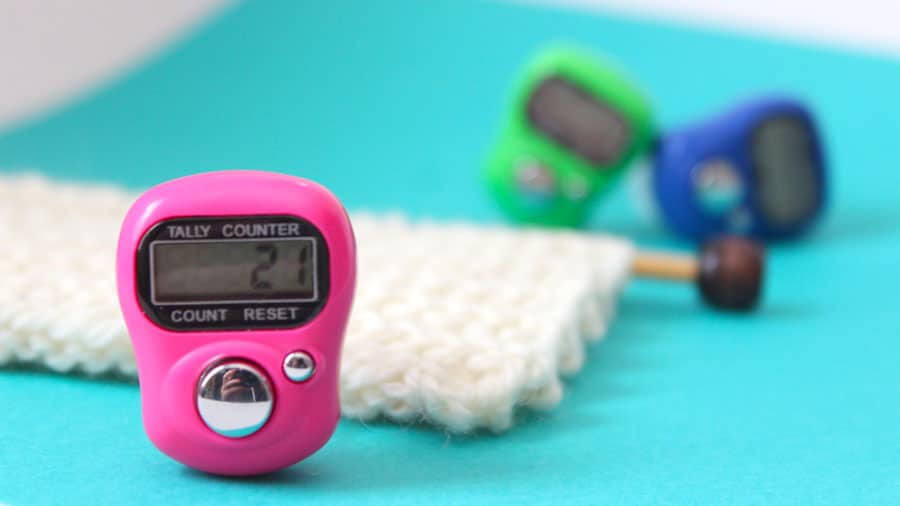 Knitting With A Digital Row Counter With Video Tutorial Studio Knit