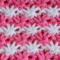 Daisy Stitch Knitting Pattern and Video Tutorial
