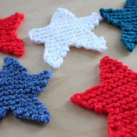 How to Knit a Star Shape with Studio Knit - Free Pattern + Video Tutorial