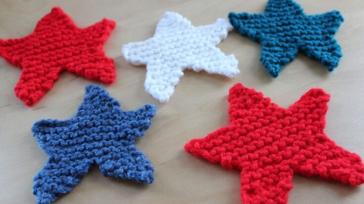 How to Knit a Star Shape (Knitting Pattern)