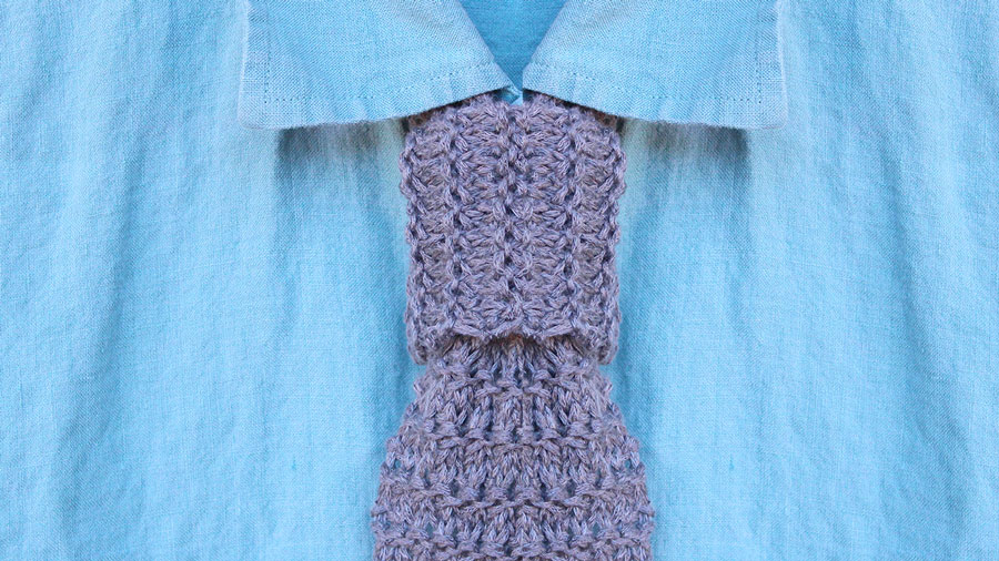 How To Knit A Granite Necktie Pattern With Video Tutorial Studio Knit