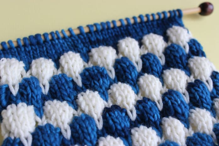 Bubble Knit Stitch Pattern Roundup Studio Knit