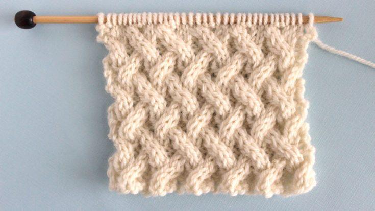 Lattice Cable Stitch (Knitting Pattern) | Studio Knit