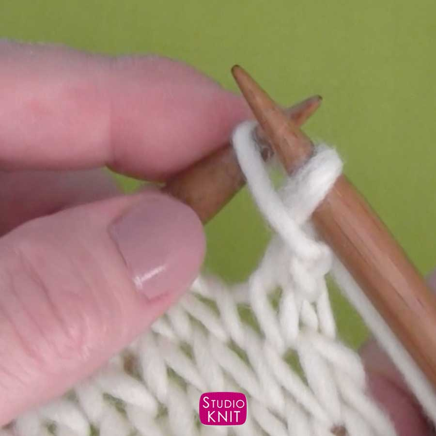Cast Off Knitting Stitches Step by Step Instructions