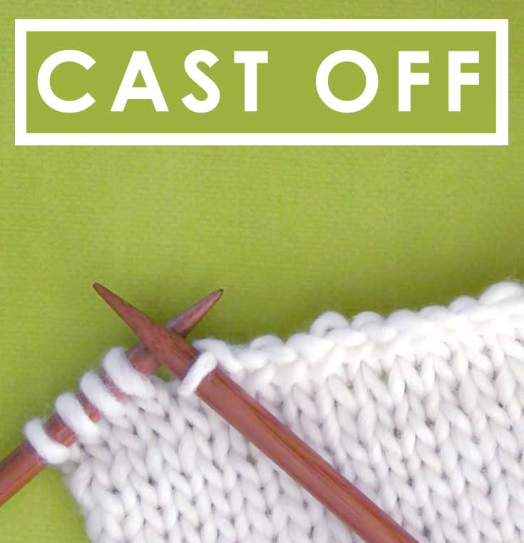 Learn to Cast Off Knitting Stitches
