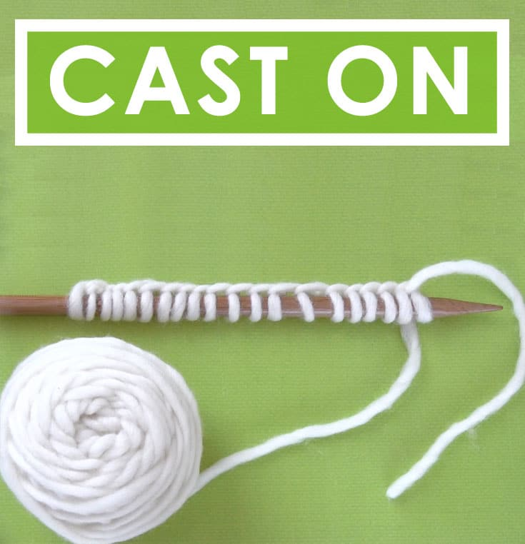 How to CAST ON Yarn in the Absolute Beginner Knitting Series by Studio Knit