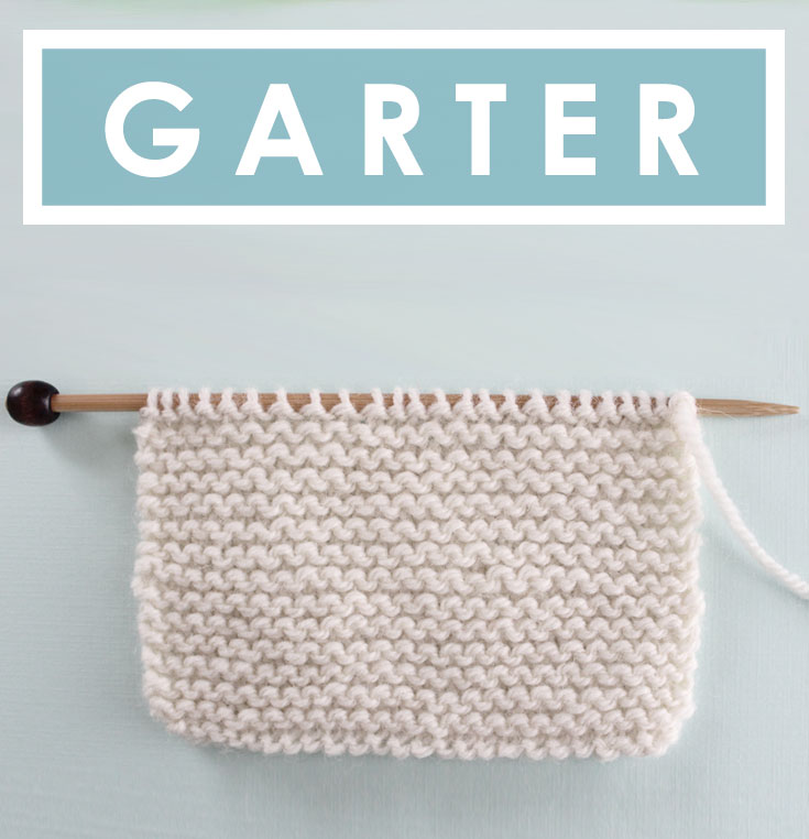 How To Knit The Garter Stitch Pattern With Video Tutorial Studio Knit