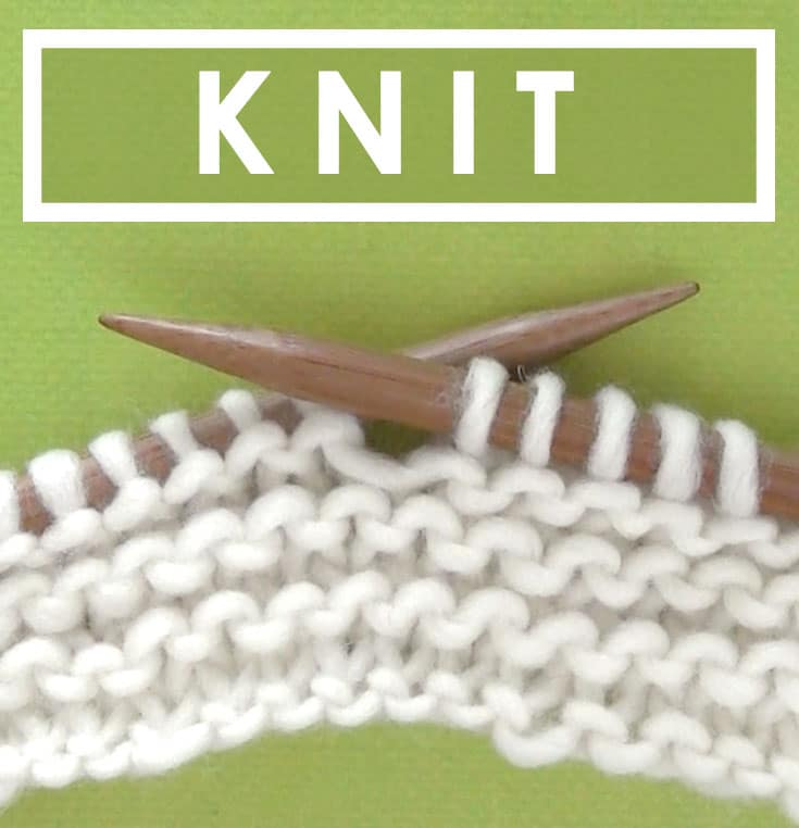 Learn How to KNIT STITCH in the Absolute Beginner Knitting Series by Studio Knit