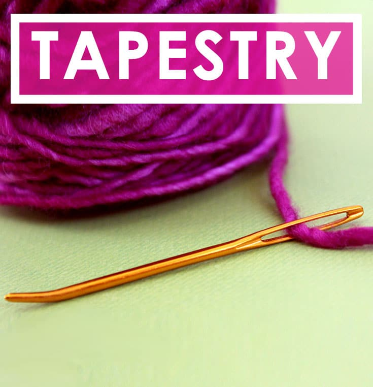 How to Use a Tapestry Needle in the Absolute Beginner Knitting Series by Studio Knit