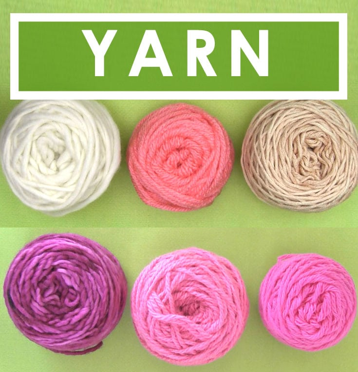 Yarn - How to Select Yarn to Start Knitting in the Absolute Beginner Knitting Series by Studio Knit