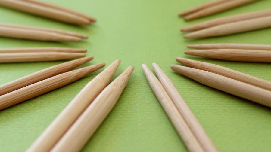 Learn how to Select Your Knitting Needles in the Absolute Beginner Knitting Series by Studio Knit