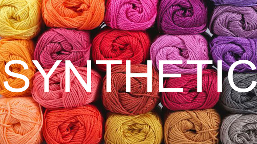 Synthetic Yarn - How to Select Yarn to Start Knitting in the Absolute Beginner Knitting Series by Studio Knit