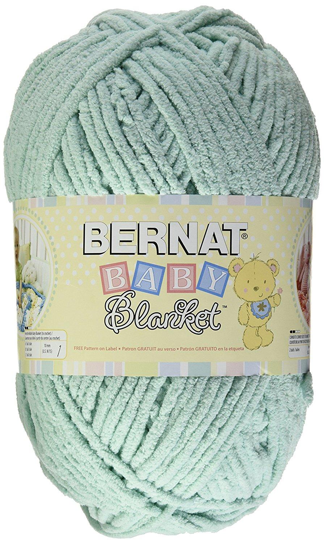 Bernat Baby Blanket Yarn #6 in Color Seafoam