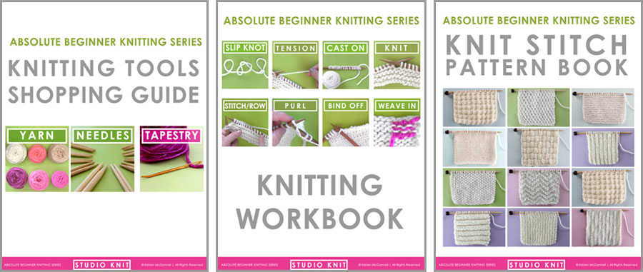 Studio Knit Downloadable Knitting Booklets