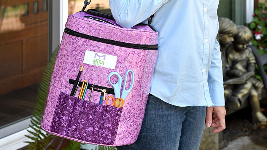 Premium Large Knitting Tote Bag - The Experienced Knitter Gift Guide