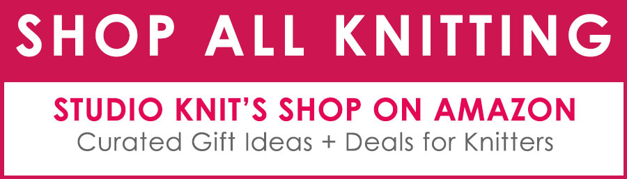 Studio Knit Shop on Amazon - Gift Ideas for Knitters
