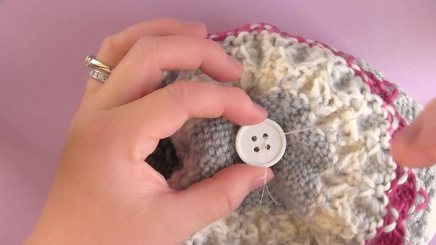 MAKING A DETACHABLE POM-POM FOR A HAT How to Make a Faux Fur Pom-Pom with Studio Knit | DIY Craft