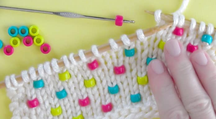 How to Knit Beads Into Any Project by Studio Knit