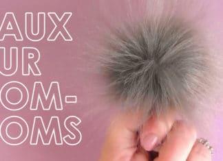 How to Make a Faux Fur Pom-Pom with Studio Knit | DIY Craft