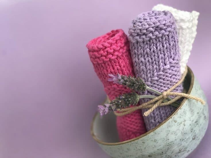 Knit Dishcloth Pattern Free