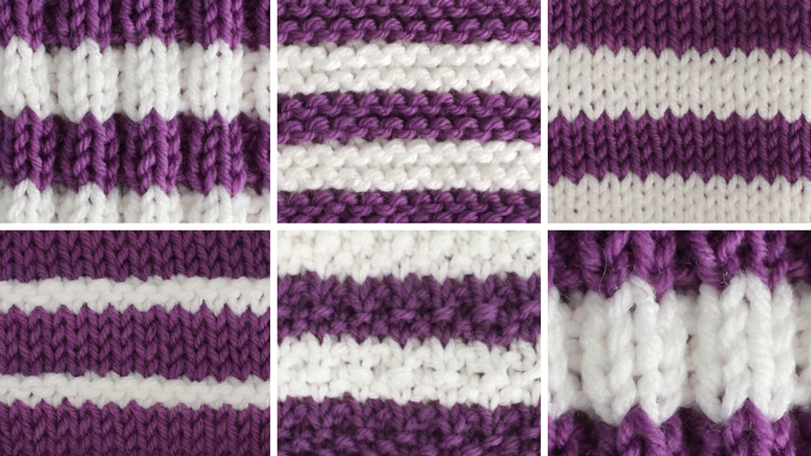 How to Knit Stripes with Studio Knit