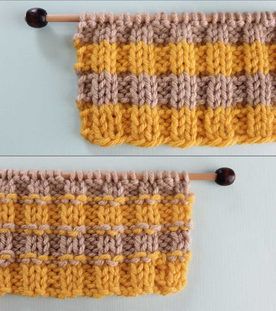 How To Remove Purl Dash Lines Knitting Technique With Video Tutorial