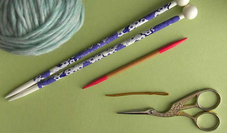 Materials How to Knit a Fancy Celtic Cable Pattern with Studio Knit